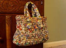 Craft Knitting Plastic Projects Recycling PlasticbagthumbJPG