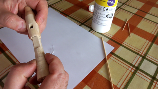 how to make a wooden whistle